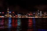 Victoria Harbour @ night 02