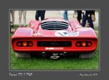 FERRARI 312P 1969 Chantilly - France