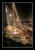 Sanary Harbour at Christmas