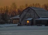 Barn Light In Dawn Light P1070084-90