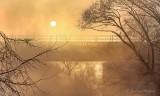 Sun Rising Through Mist P1390031-7