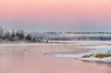 Sunrise Ground Fog At The Swale P1390082-4