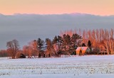 Winter Farmhouse At Sunrise P1070772-8