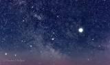 Milky Way & Jupiter P1390485-92