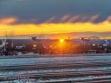 Rail Yard Sunrise P1400085-91