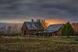 Two Barns At Night P1390978-83