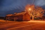Barn & Tree At Night P1390900-6