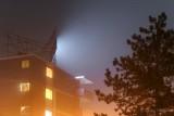 Hotel Sign Glow In Fog P1390771-3