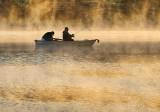 Fishing In Sunrise Mist P1420545-51