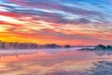 Misty Rideau Canal Sunrise P1420916-22