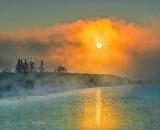 Misty Foggy Sunrise P1430422-8