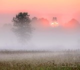 Sunrise Through Ground Fog P1430635-41