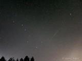 Big Dipper, Meteor & Polaris P1430987