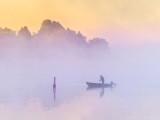 Misty Rideau Canal At Sunrise P1440246