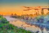Misty Irish Creek Sunrise P1440691-7