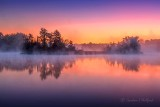 Misty Rideau Canal At Dawn P1440859-65