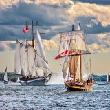 Tall Ships 'Empire Sandy' & 'St Lawrence II' DSCN00592