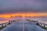 Roses Bridge In Foggy Sunrise P1450317-23