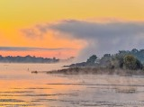 Fog Wave At Sunrise P1450560-2