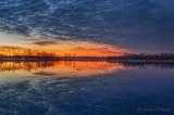 Dead Calm Irish Creek At Dawn P1480058-64