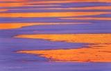 Snow On Ice At Sunrise P1480747