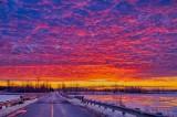 Frozen Irish Creek Sunrise P1480754-60