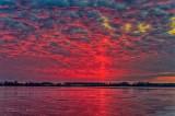 Red Sky & Sunrise Solar Pillar P1490054-60