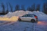 Car Beside Big Pile Of Snow P1510541-7
