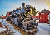 CN 1112 Steam Locomotive 49555-7