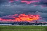 Sunrise Clouds Beyond Gemmels Point P1530762-8