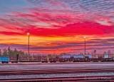 Sunrise At The Rail Yard DSCN18721-6