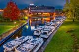Le Boat Season End Queue At Blue Hour P1560896-02