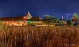 Railway Museum Of Eastern Ontario At Night P1570145-51