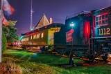 Railway Museum Of Eastern Ontario At Night P1570166-72