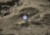 Clouded Halloween Blue Hunter's Moon P1570278