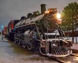 Snowy CN 1112 Steam Locomotive P1580316.21