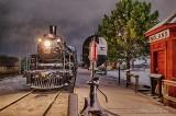 Railway Museum Of Eastern Ontario At Night P1580349-55