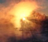 Sunrise Through Mist DSCN47231