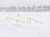Snow Falling On Lower Reach DSCN47525