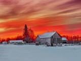 Farmscape At Sunrise DSCN48289-91