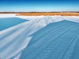 Boathouse Shadows On Frozen Swale DSCN48399
