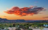Palo Duro Canyon At Sunset 71790