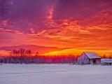 Old Barn At Sunrise DSCN49517-9