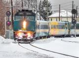VIA Rail Train 643 Approaching DSCN49673
