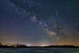 Milky Way Galactic Core Over Irish Creek P1590318
