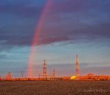 Partial Rainbow At Sunrise DSCN54137