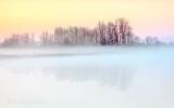 Misty Otter Creek At Sunrise DSCN53662