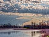 Interesting Sky Over Irish Creek DSCN55394