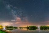 Milky Way Over Edmonds Lockstation P1590900-1