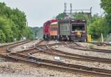CP TEC Train Westbound Leaving Smiths Falls DSCN62619